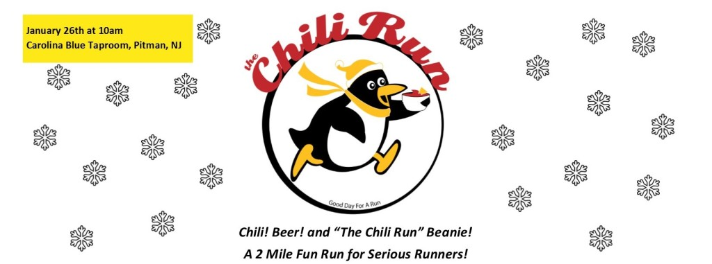 Chili Run Promo website